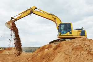 An excavator