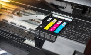 Eco friendly ink used for the printer