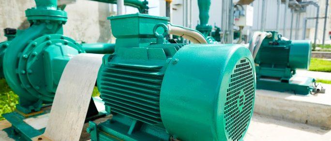 Centrifugal pump in a plant