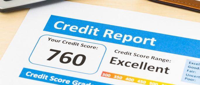 High credit score grade